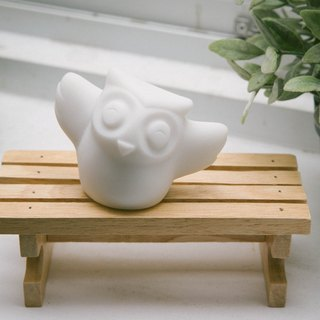 Youth Partners - stone owl shape