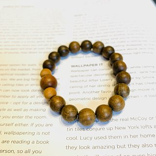 Ran Ran (Bracelet Series) Green Tan (10mm) -- Ankang