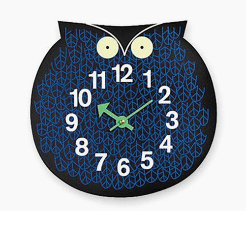 A.cerco zoo Zoo Clock Clock owl / elephant / fish / loft wind / clock (B19009) _ out of stock