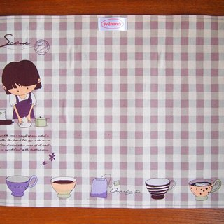 Time placemats exclusive group (purple)