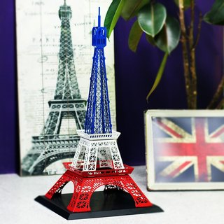 Dong Qi metalworking] [OPUS Eiffel Tower building model / metal custom / window decoration / wedding decoration / installation art / interior design decorations props (Milan paragraph)
