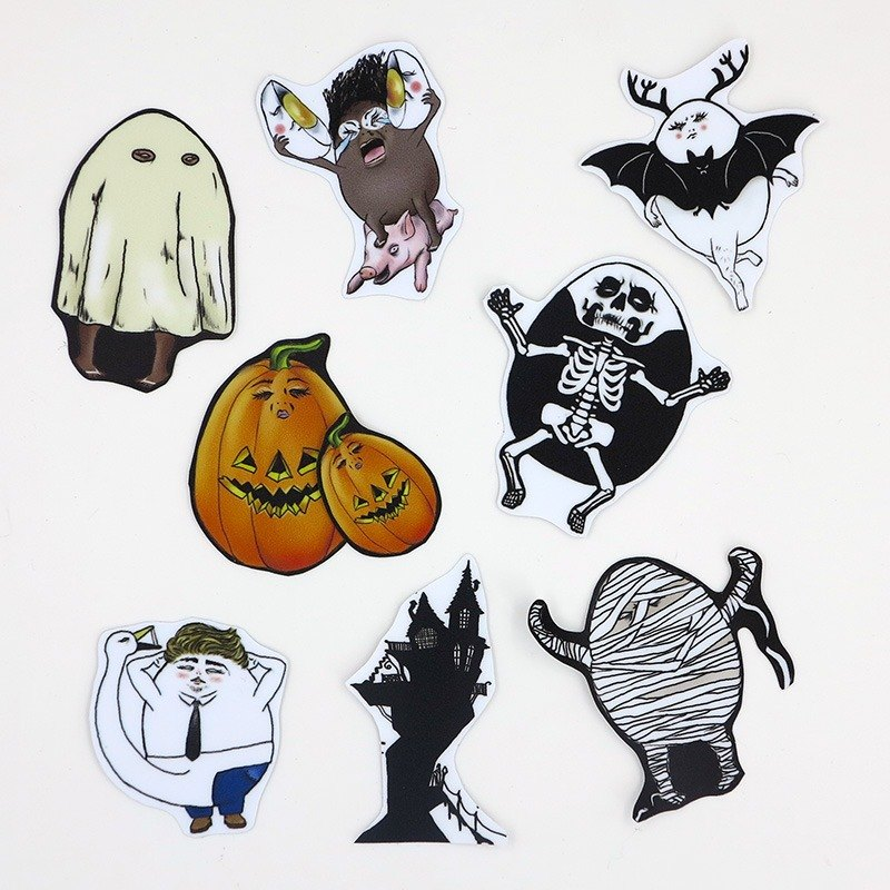Eggheads/ Medium Sticker Set 7