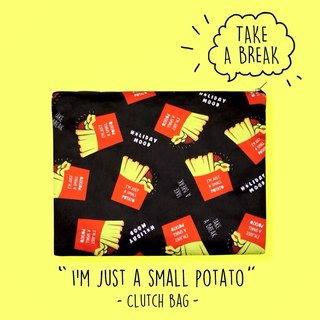 I'm just a small potato clutch bag 薯條手拿包