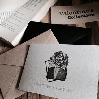 You better send me flowers today // Valentine's Collection