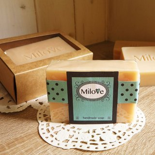 Olive silk cold soap