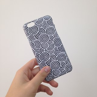 Japanese waves pattern black and white 31 3D Full Wrap Phone Case, available for  iPhone 7, iPhone 7 Plus, iPhone 6s, iPhone 6s Plus, iPhone 5/5s, iPhone 5c, iPhone 4/4s, Samsung Galaxy S7, S7 Edge, S6 Edge Plus, S6, S6 Edge, S5 S4 S3  Samsung Galaxy Note