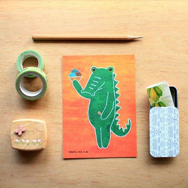 明信片 ∣ 我的夢想小綠