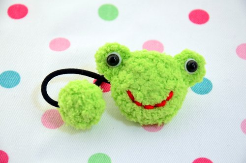 Knitting soft tresses - Frog