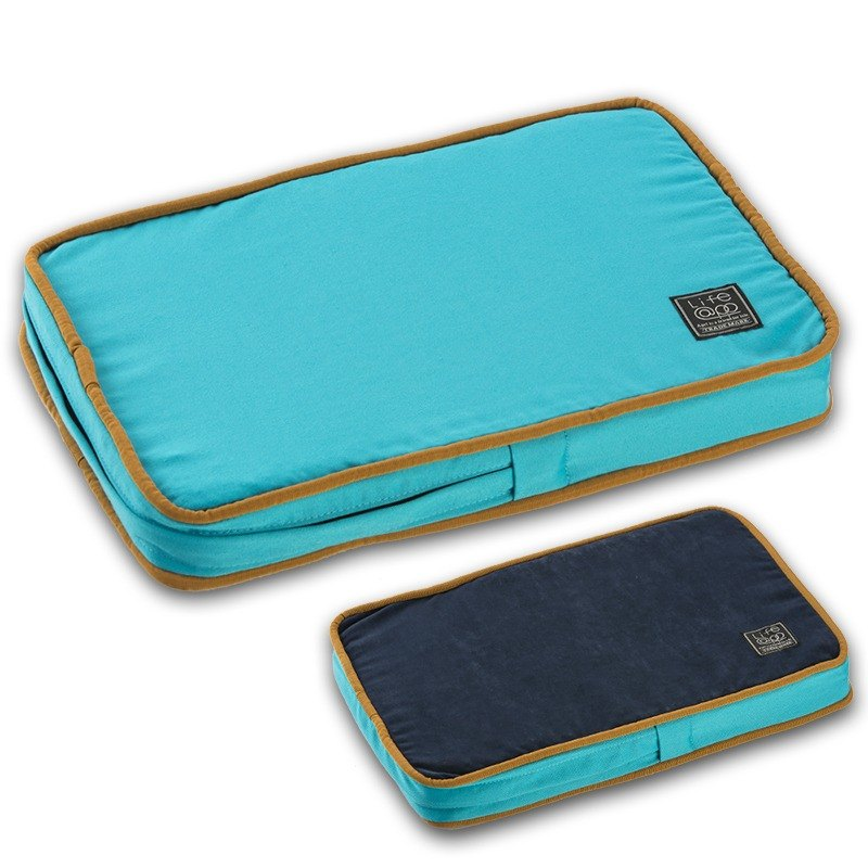 Lifeapp Dirty Pet Sleeping Pad XS (Blue) W45 x D30 x H5 cm