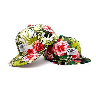 Filter017 -棒球帽 - Colorful Flowers Bloom Snapback Cap