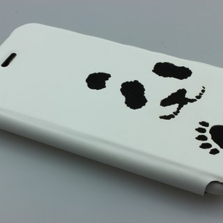 Christmas specials! Japan simultaneously listed clamshell models iPhone 6 / 6S personalized panda protective shell (fresh and simple design)