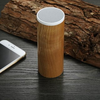 Solid wood bluetooth speaker - No button version | Handmade works | Gifts | Gifts | Indiebrand | Seventh Heaven