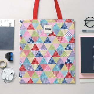 [Japan Tokyo Limited] color triangle Tote