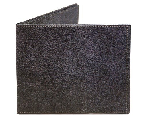 Mighty Wallet (R) Leather Wallet _Black Leather