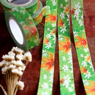 Aloha and the significance of the green paper tape