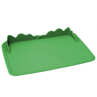 US MyNatural toxic children's tableware - Jungle Green Silicone Placemats
