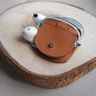 Leather Handmade* Headphone Hub/Leather Storage Jacket Earphone Collector