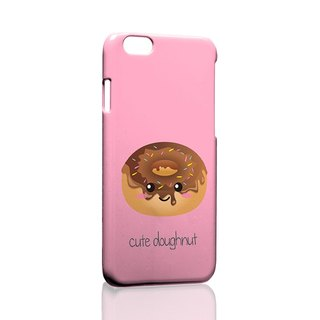 Cute Donut Pattern iPhone X 8 7 6s Plus 5s Samsung S7 S8 S9 Phone Case