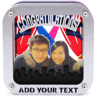Customized perspective Puzzles Frame - Stage royal theme x Personalized
