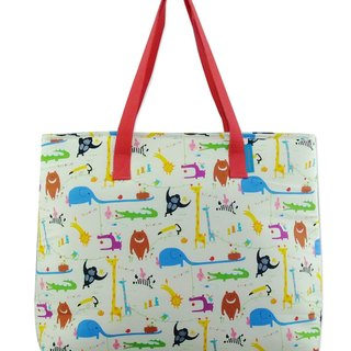 Frochaud - Insulated bag, shopper bag, mother bag (Zoo)