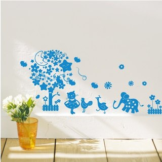 Smart Design Creative trace ◆ moonlight garden wall stickers