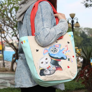 Circus Series - Arc Stitch Tote Bag (Magic Cap)