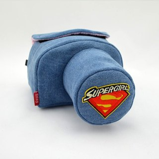 Camera bag (for your camera) the amount of manual machine personalize goddess super cute SUPERGIRL 004