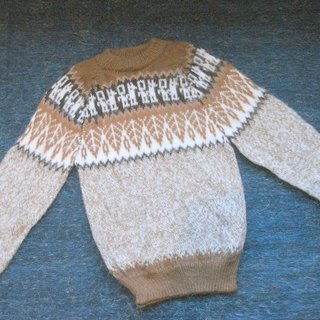 South America Peruvian alpaca thick sweater children's models