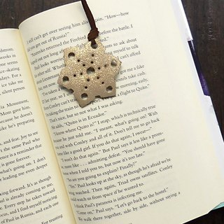 [Mania] ANITA hand-made Christmas X pure silver snowflakes sparkle ‧ bookmark - Specials