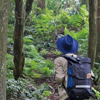 Matchwood Wood Design Matchwood Rider Waterproof Notebook Backpack 17 吋 电 Interlayer 600D Backpack Dark blue