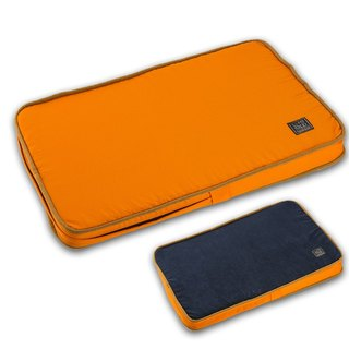 Lifeapp Dirty Pet Sleeping Pad S (Orange Blue) W65 x D45 x H5 cm