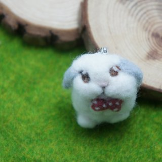 Wool felt peeps you bunny rabbit pin brooch custom