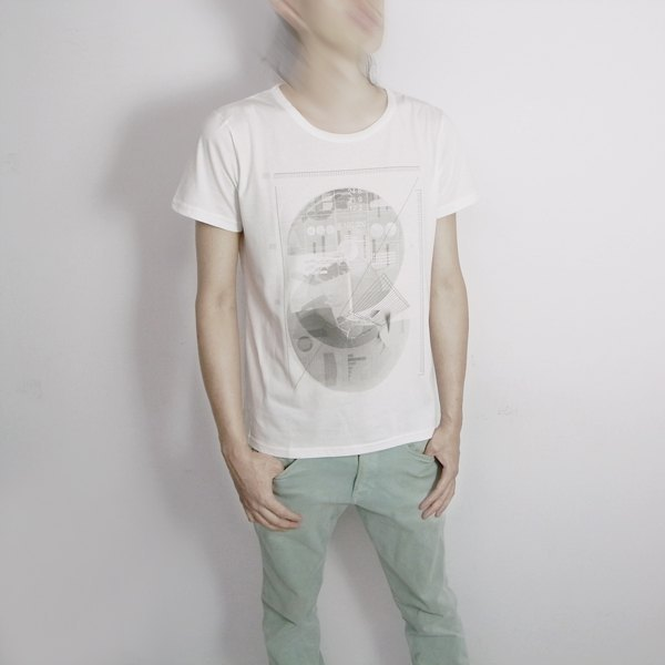 I A N Design round body. - Men's formula organic cotton short-sleeved T-shirt Organic Cotton M / L