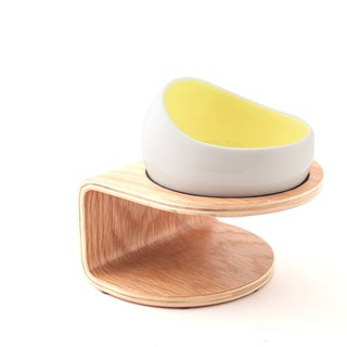 【MYZOO】 space capsule bowl / egg yolk