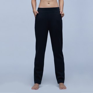 [MACACA] Beauty Shaped Abdomen Warm Pants - ARG7991 Black