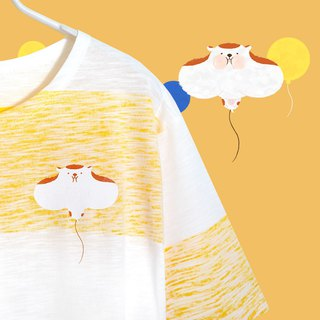 [Limited Ten Pieces] Fake Fat Balloon Gold Rat - Mixed Yellow Stripe Long Play