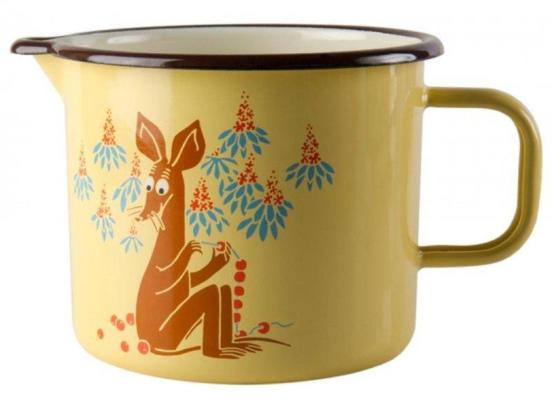Moomin芬蘭嚕嚕米泡麵鍋1.3l /聖誕節禮物/交換禮物