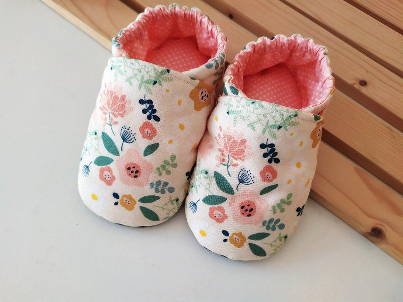 小花兒 彌月禮物 嬰兒鞋 寶寶鞋 學步鞋 室內鞋