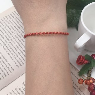Braided bracelet can be customized with color red line bracelet bracelet rope surf rope boys
