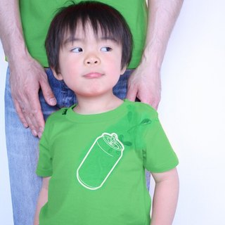 KIDS can T-shirt (GREEN)