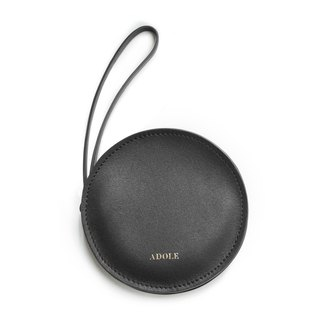 [ADOLE] sandwich purse / black
