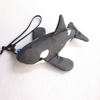 Design No.KW151 - 【Cotton Canvas】Killer Whale Charms