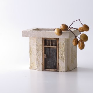 Cement old house creation ornaments