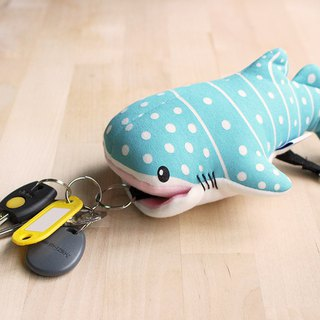 Tofu shark spot whale shark multifunctional doll key pack (key pack/shark/whale shark)