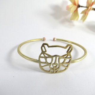 Bear one geometric bracelet