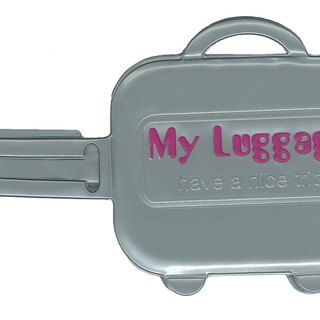 Alfalfa My luggage Luggage tag(Grey)