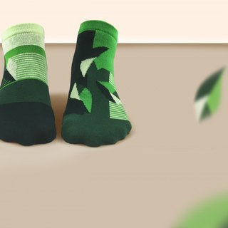 socks_mojito / irregular / socks / grenn