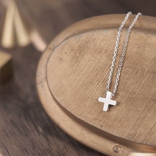 Tiny Cross necklace Silver925