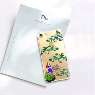 Frog Prince phone case Flowers iphone 8 case Sony z5 case LG g6 case Galaxy s8