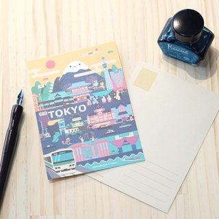 Lonely Planet Postcard - Tokyo Street View